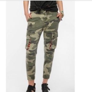 Urban Outfitters BDG Camo Tribal Joggers